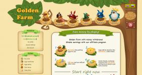 سایت golden farm