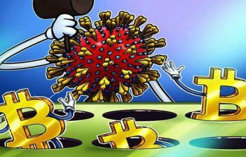 افزایش معاملات بیت کوین با کرونا